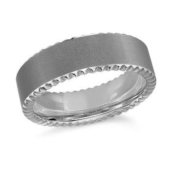 Tungsten Wedding Banf 7mm Size 10