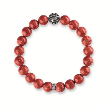 Simulated Coral Bracelet