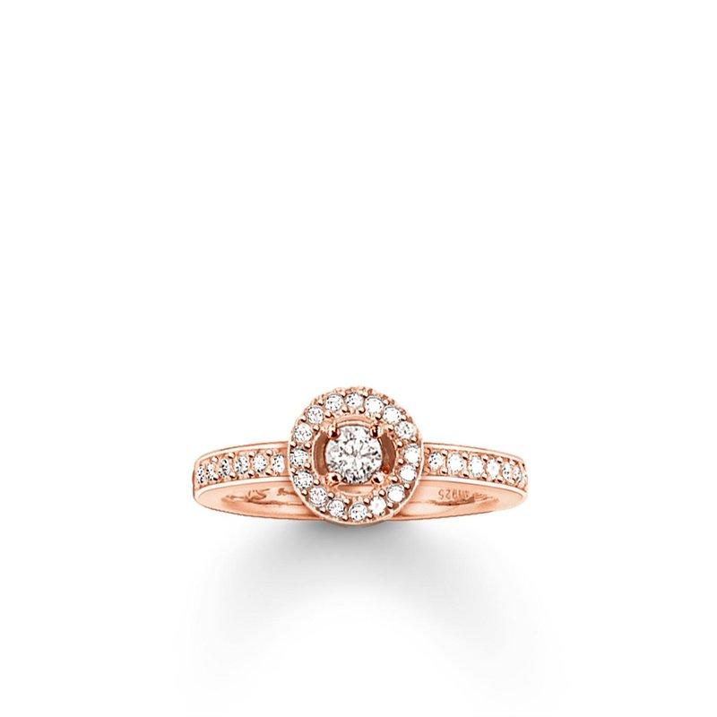 Thomas Sabo Halo Zirconia Ring