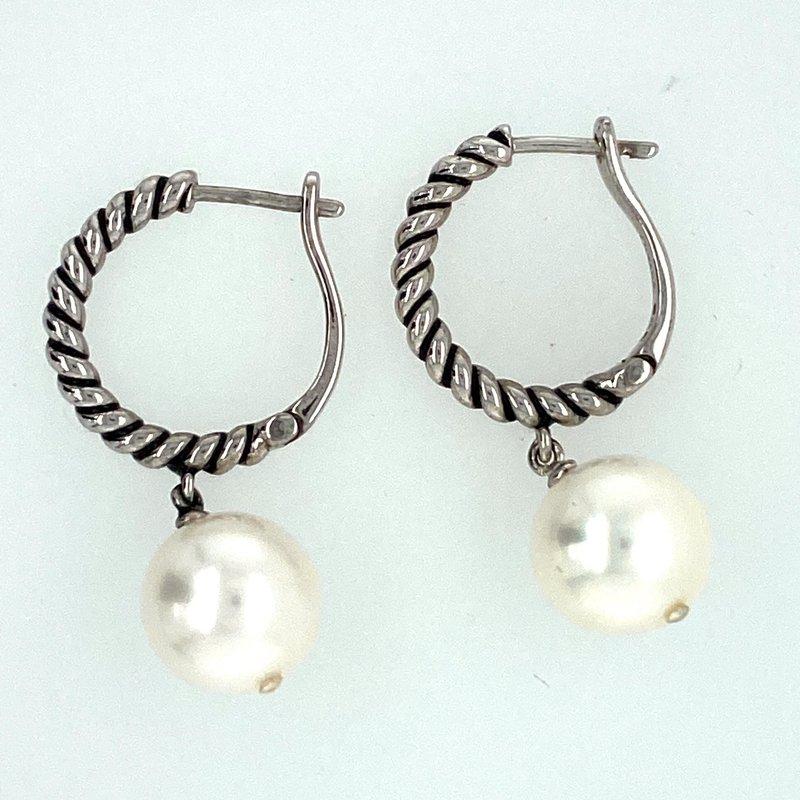 Ashley Fresh Water Pearl Drop Earrings
