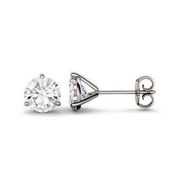 Martini Diamond Stud Earrings