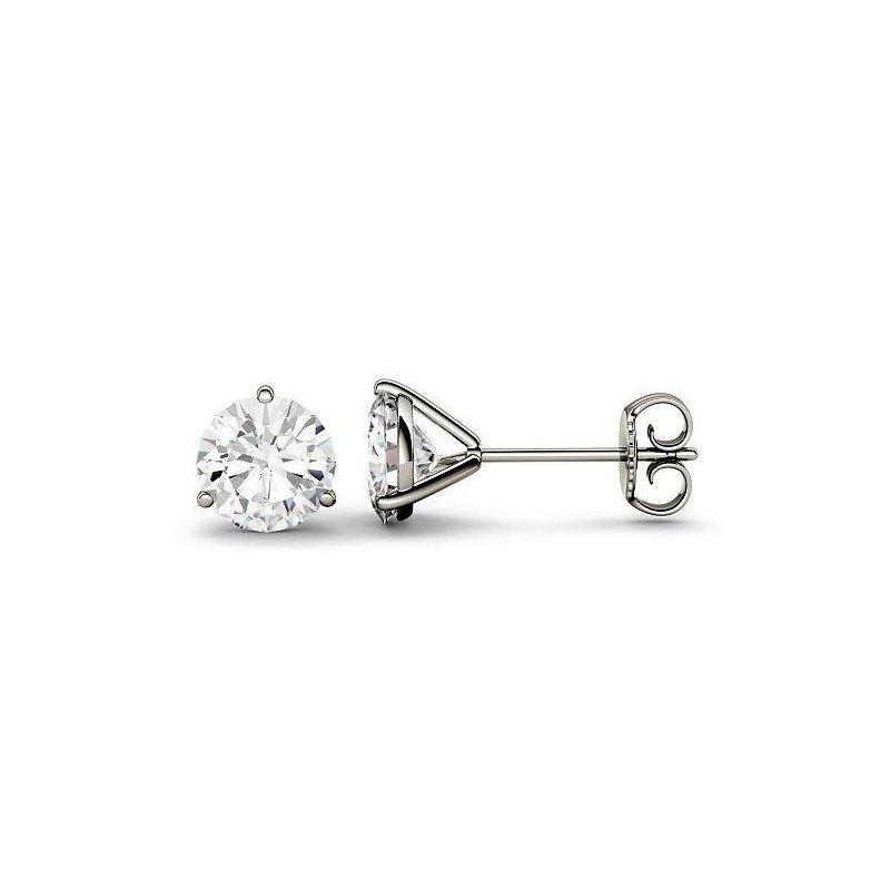 Ashley Martini Diamond Stud Earrings