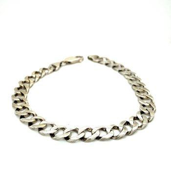 Men's White Gold Bracelet