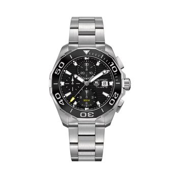 Aquaracer - 43mm chronograph,