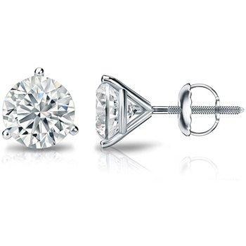 1.68 carat Diamond Stud Earrings