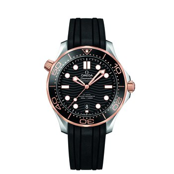Seamaster Diver 300M Co-Axial Master Chronometer Sedna Gold 43MM Watch. 21022422001002