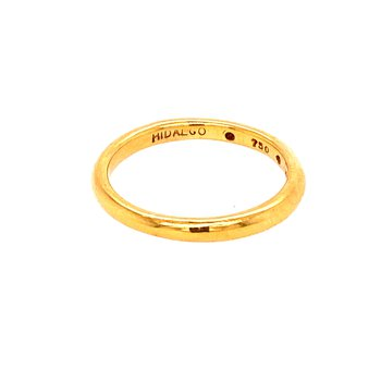 Yellow Gold Band