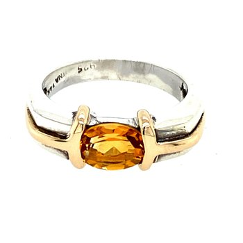 Ladies Citrine Ring