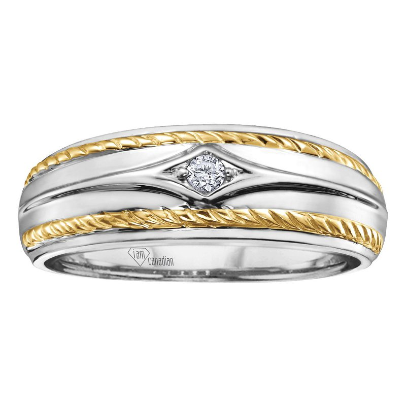 I Am Canadian Men's Diamond Ring