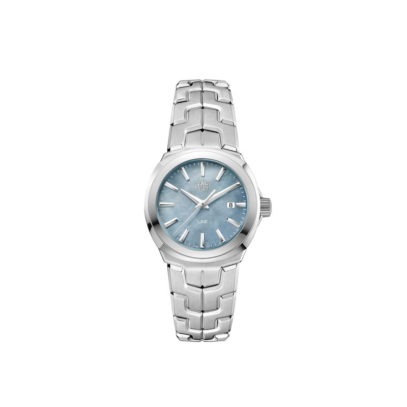 TAG Heuer Link - 32mm light blue MOP dial,