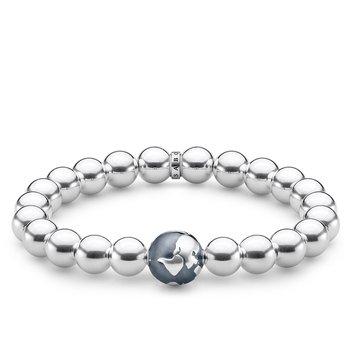 Globe Beaded Bracelet