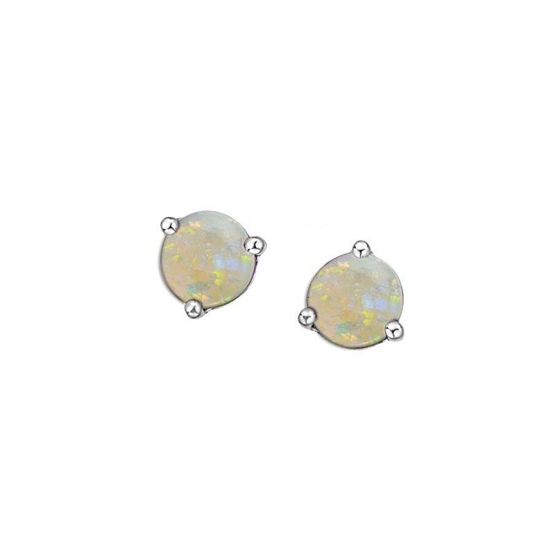 Ashley Opal Stud Earrings