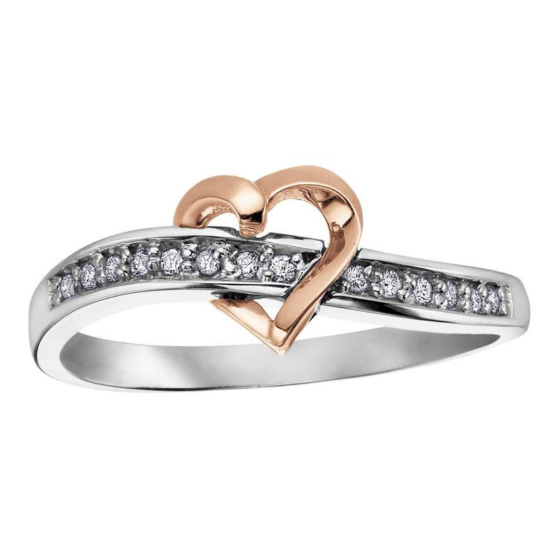 Ashley Diamond Heart Ring