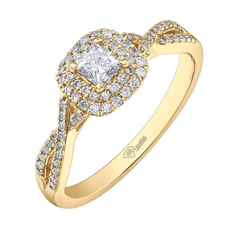 I Am Canadian I Am Canadian Diamond Engagement Ring