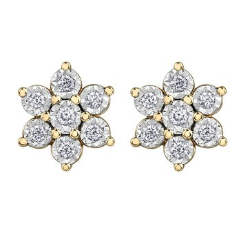 Diamond Illuminaire Earrings
