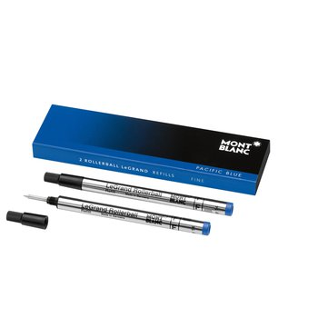 Le Grand Rollerball Refill In Blue/Fine - 2 Pacl