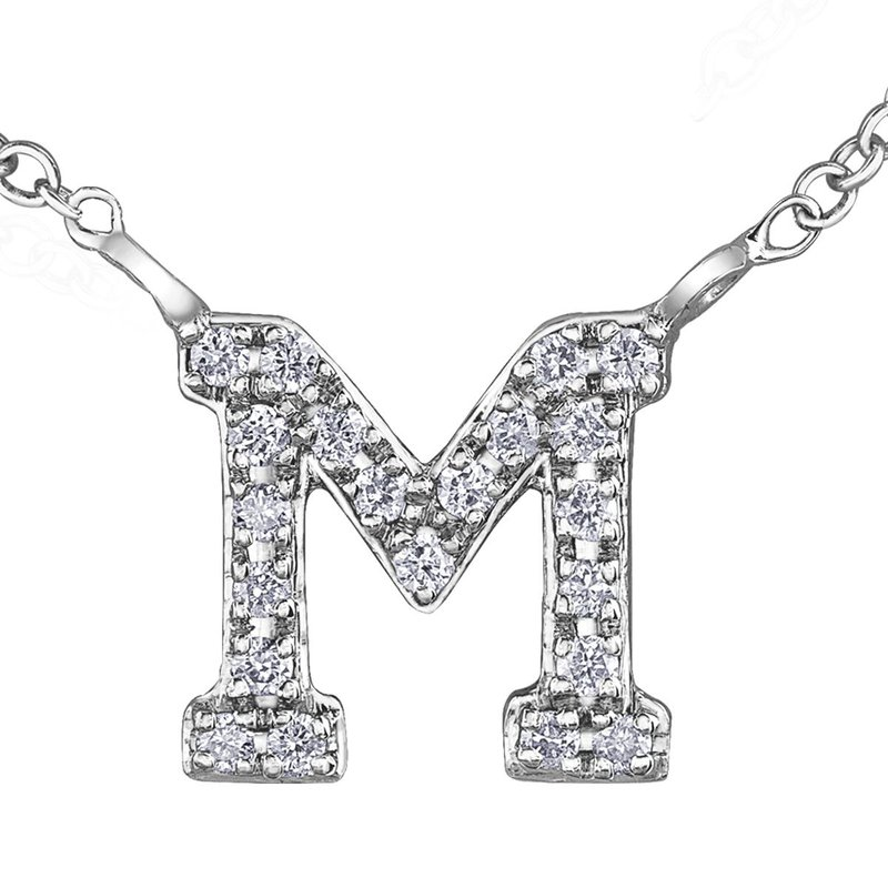 Ashley Initial M Necklace