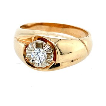 Estate Men's Diamond Ring