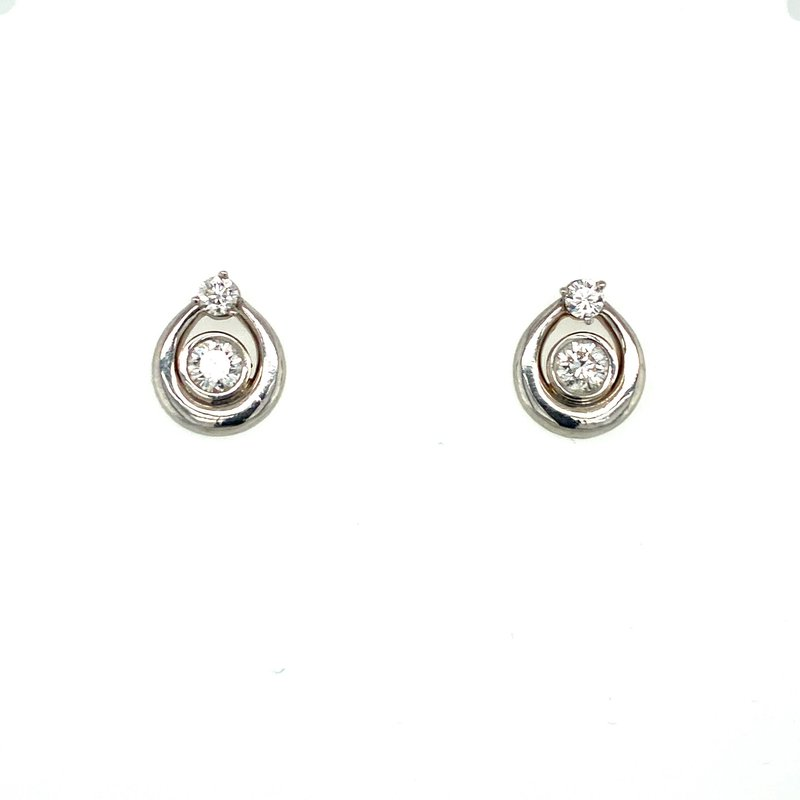 Ashley Diamond Tear Drop Earrings
