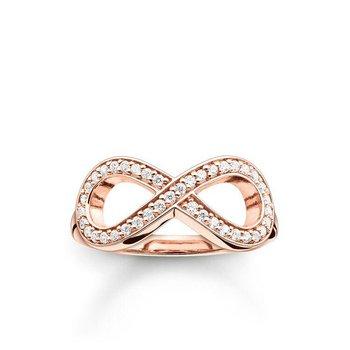 Zirconia Infinity Ring