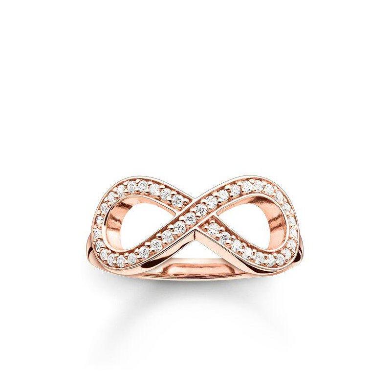Thomas Sabo Zirconia Infinity Ring