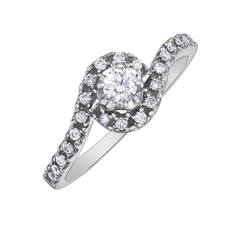 I Am Canadian Diamond Ring