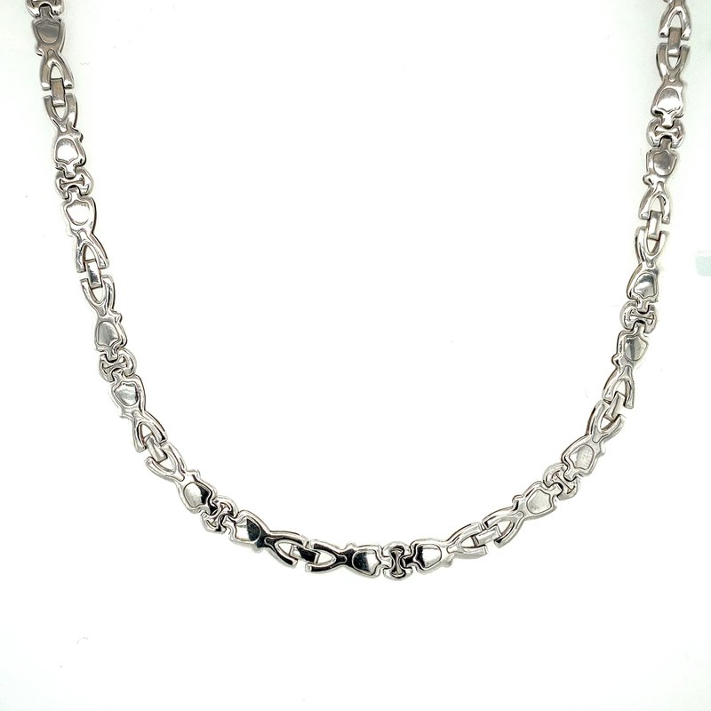 Ashley White Gold Chain