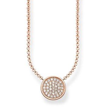 Sparkling Circle Necklace