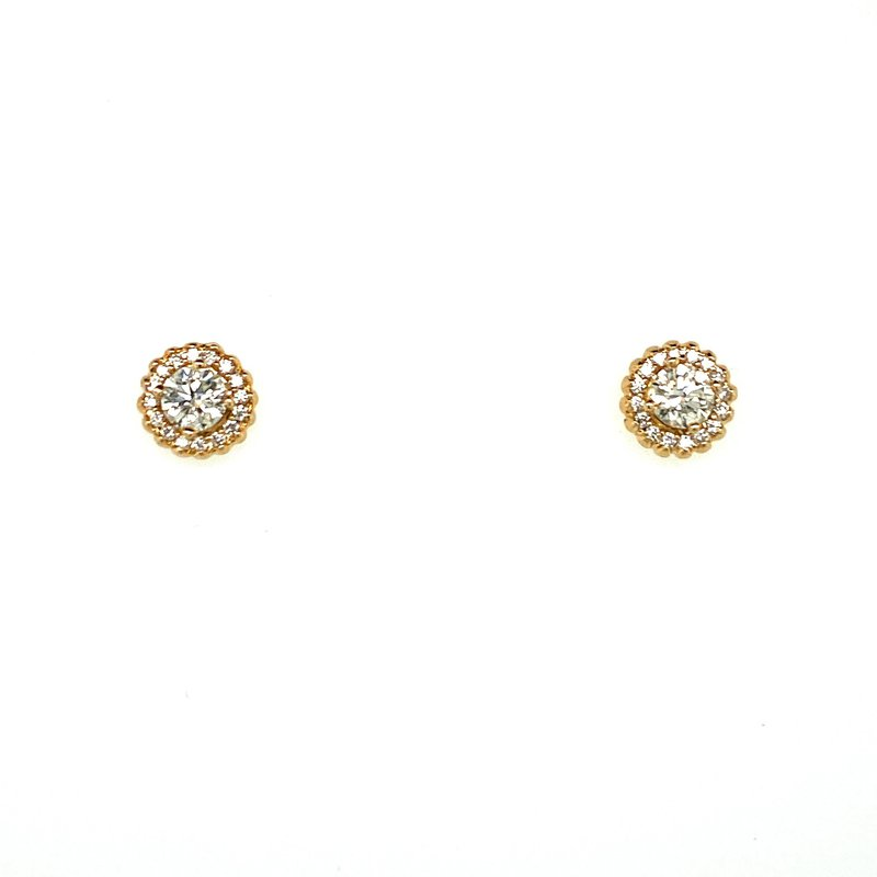 Ashley Canadian Diamond Cluster Earrings