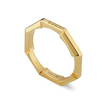 Link to Love mirrored ring YBC662194001 SIZE 7