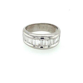 Baguette Ladies Diamond Ring
