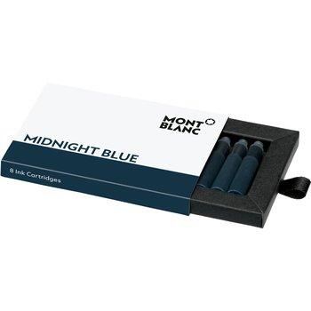 Fountain Pen Cartridge Refill In Midnight Blue - 8 Pack