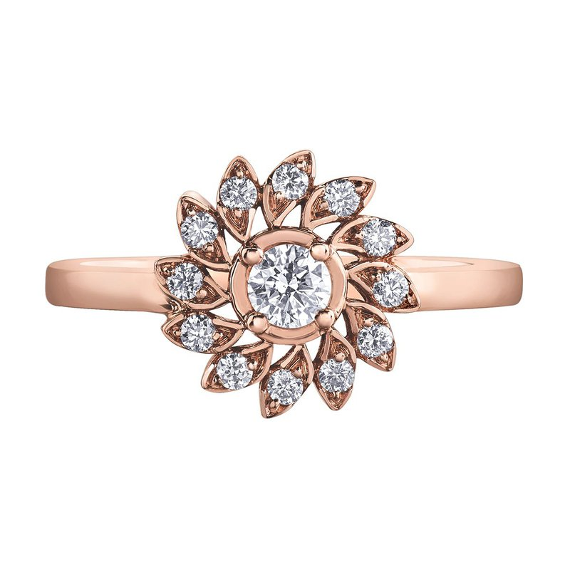 I Am Canadian Ladies Diamond Ring