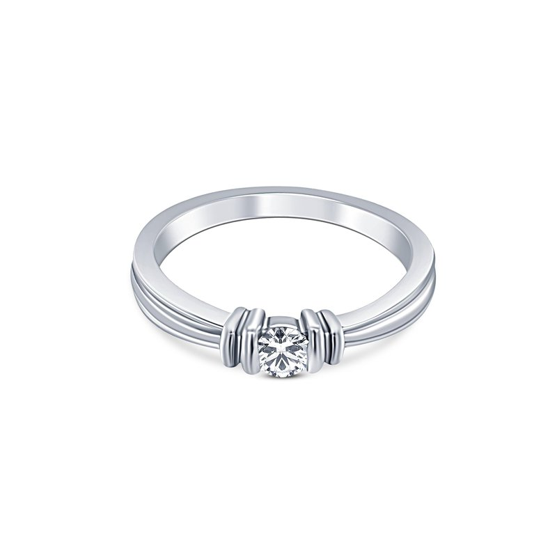 Ashley Solitaire Ring