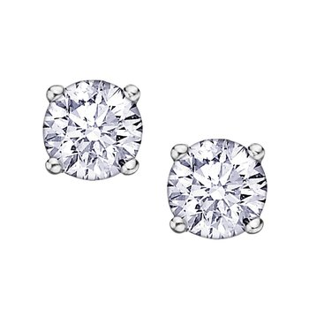 .30ct. Diamond Stud Earrings