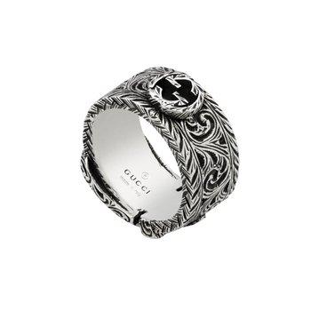 Garden silver ring