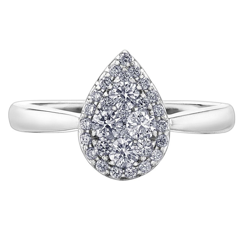 Ashley Pear Shaped Engagement Ring