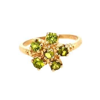 Estate Green Stone Ring