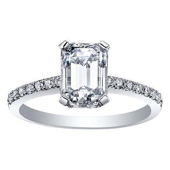 Canadian Diamond Engagement Ring