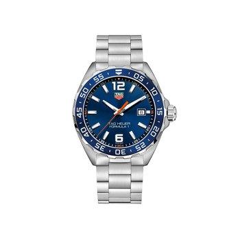 Formula 1 43mm blue dial, steel bracelet