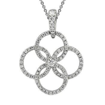 Multi Circle Diamond Necklace