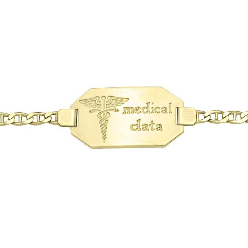 Ashley Men's Mecial Data Bracelet