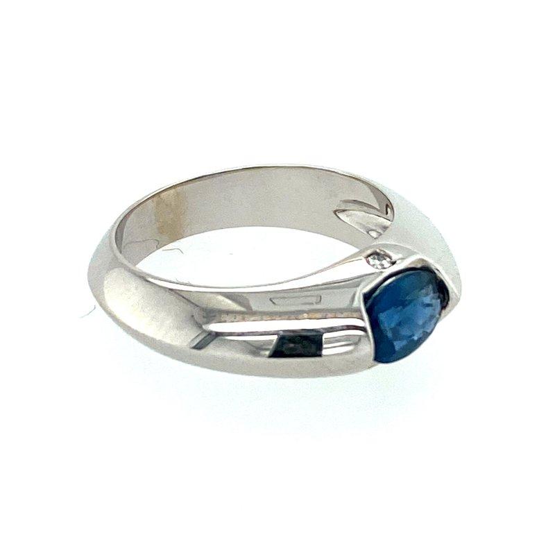 Ashley Iolite & Diamond Ring