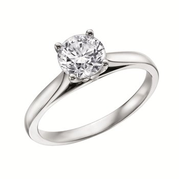 LAB GROWN DIAMOND SOLITAIRE RING
