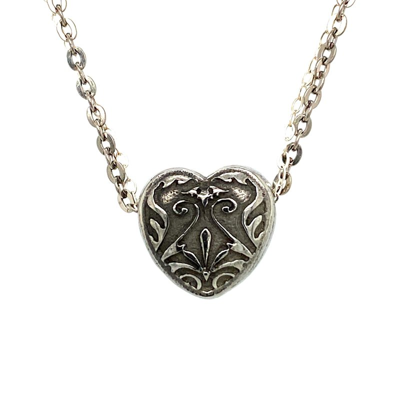 Ashley Titanium & Silver Necklace