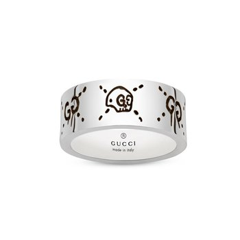 Ghost 9mm Silver Ring YBC45531800