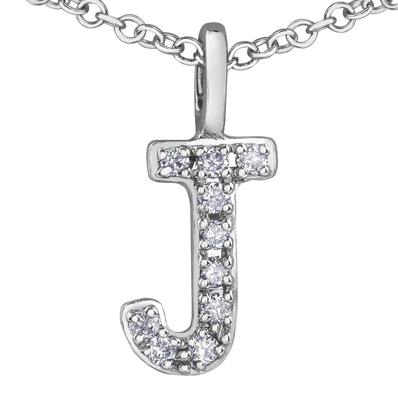 Ashley Initial J Necklace