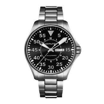 Khaki Aviation Pilot Day Date Auto Automatic | 46mm | H64715135