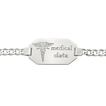 Ladies Medical Data Bracelet