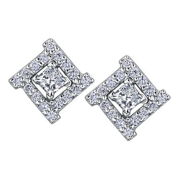 .21 carat Diamond Earrings
